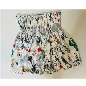 KOCH Safari print shorts